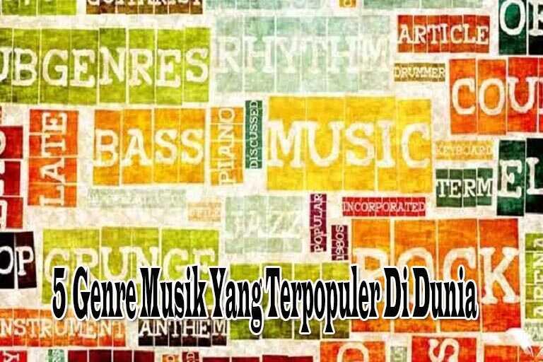 Genre Musik Yang Terpopuler Di Dunia